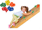 KIDS PLASTIC CLIMBING STONES ROCKS HANDLES FOR CHILDREN PLAYHOUSE WALL NEW!!!