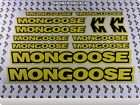 MONGOOSE Stickers Decals Bikes Bicycles MTB BMX Cycles Frames Mountain 700P