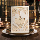 Personalized Printing Laser Cut Unique Design Wedding Engagement Invitation Card