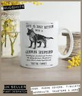 German Shepherd Dog Mug ~ Perfect Gift can be personalised ~ Vintage Style