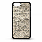 Wedding engagement bride love heart bridal quote phrase gift phone case cover