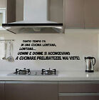 WALL STICKERS MURALI In una cucina lontana STAR WARS adesivo JEDI DARTH frase