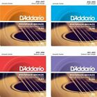 3 Sets D'Addario EJ Phosphor Bronze Acoustic Guitar Strings  EJ15 EJ16 EJ17 EJ26