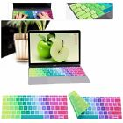 """Silicone Keyboard Protector Cover For Apple Macbook Air Mac 11""""12""""13""""15""""17"""" US"""