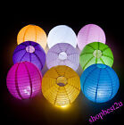 "10pc 4"" 8"" 12"" 14"" 16"" wedding Hanging Chinese Paper Lanterns Party Decoration"