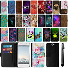 For HTC One A9 Aero Magnetic Flip Wallet Leather POUCH Case Phone Cover + Pen