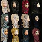 Embroidered Cotton Viscose High Quality Elegant Hijab, Scarf, Womens Shawl