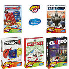 GRAB & GO HASBRO COMPACT TRAVEL BOARD GAMES GREAT FOR HOLIDAY / CAMPING / PARTY