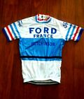 Brand New Team Ford France  Cycling jersey Eddy Merckx