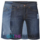 Mens 100% Cotton Denim Look Jean Mens Summer Shorts Mens Jean Shorts 30-38""