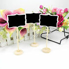 Wedding Rectangular Wooden Chalk Board Memo Board Blackboard Table Number Sign