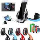 360° Universal Car Windscreen/ Dashboard Phone Suction Stand Mount Cradle Holder