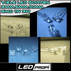 10 20 25 50 100 3mm 5mm 10mm LED LEDs  Diffus Klar SMD 0603 0805 1206 1210 3528