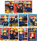 Official Fireman Sam Birthday Cards - Ages and Relations - some with badge