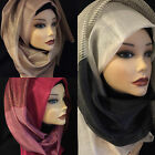 High quality beautiful Light weight silk hijab, scarf, women's shawl.
