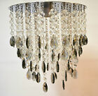 CHROME MIRRORED CHANDELIER STYLE PENDANT LIGHT SHADE