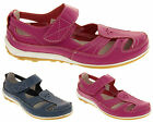 Womens COOLERS Leather Sandals Ladies Comfort Mary Jane Shoes Size 4 5 6 7 8