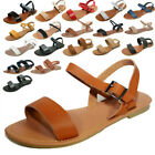 New Women Sandals Shoes Gladiator Thong Flops T Strap Flip Flat Strappy #205