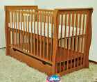 BABY COT BED/COT BEDS/BABY COT WITH DRAWER/JUNIOR BED + SELECTION OF MATTRESSES