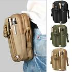 Sport Molle Waist Pouch Utility Phone Pouch Tactical Waist Bag Running Hiking