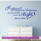 Happiness can be found in the Darkest Harry Potter Wall Quote Vinyl Art Stickers