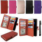 For Samsung Galaxy S7 G930 Card Holder Magnetic Wallet Pouch Cover Case + Pen