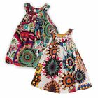 Flower Girl Summer Princess Dress Kids Baby Party Pageant Floral Dresses Clothes