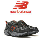 Mens New Balance MT481v2 Trail Running Shoes Grey/Orange Medium X-Wide All Sizes