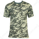 AT-DIGITAL CAMO T-SHIRT - Military Army Camouflage Cotton Top All Sizes