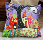 Polka Dot Tree VELVET PILLOW COVER FOLK ART Prim Various Sizes Karla Gerard