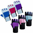 Weight Lifting Gloves Fitness Gym Workout Yoga Body Building Gloves Strap Ladies