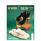Kwik Sew 3972 Warmers Bear Rabbit Stuffed Soft Toy Animals Sewing Pattern K3972