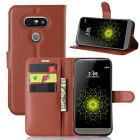 Luxury Flip PU Leather Magnetic Stand Wallet Card Case Cover For LG Accessories