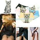 Women 3D Anti Emptied Cat Print Girls Briefs Sexy Pussycat Panties Underwear LA