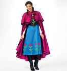 New McCalls 7000 MISSES Anna Elsa Style Disney Princess Costume Sewing Pattern
