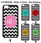 Custom PERSONALIZED Cute Chevron MONOGRAM Hard Case Cover For Apple iPod 6 5 4