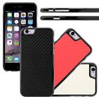 Carbon Fiber Case Slim Fit Snap-On Hard Phone Cover For Apple iPhone 6 4.7
