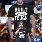 DONALD TRUMP BUILT TRUMP TOUGH KID ROCK FORD USA  T-SHIRT