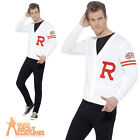 Adult Grease Rydell Prep Costume Mens TV Fancy Dress Outfit New