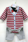 2016 New Born Baby Boy Romper Long Sleeve Red Bow Tie Outlet High Quality Cotton