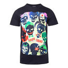 DC Comics Poster Black T Shirt - Suicide Squad Shirt - Official DC Merch
