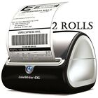"""1 TO 20 ROLLS DYMO 4XL Compatible 4""""x6"""" Thermal Shipping Postage Label 1744907"""