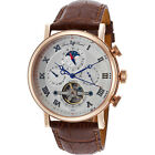 Lucien Piccard Watches Ottoman Automatic Leather Band