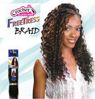 Freetress Premium Synthetic Hair Braid Crochet  - Deep Twist Bulk 22""