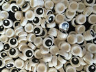 New Genuine Lego 98138 1X1 Round White Tile with Printed Eye Pattern  Choose Qty