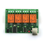 Free drive / 4 channel 5V usb Relay Module v2 / Computer control switch
