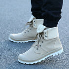 Fashion New mens shoes Style High-top Military Ankle Boots canvas Shoe fashion