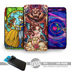 UNIVERSAL FIT Printed Phone Case Cover : Beauty and Beast Designs