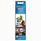 BRAUN ORAL-B STAGES POWER REPLACEMENT TOOTHBRUSH HEADS STAR WARS