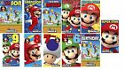 Super Mario Bros Wii Birthday Cards - Ages - Designs to Choose From
